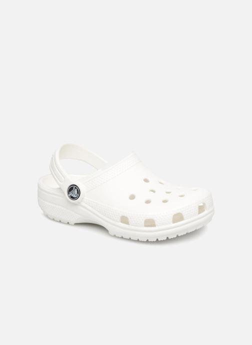 Sandales et nu-pieds Crocs Classic Kids Blanc vue détail/paire