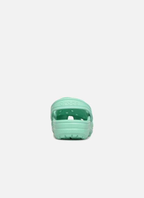 Sandals Crocs Kids Cayman Green view from the right