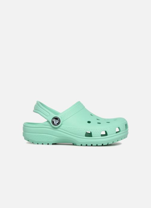 Sandales et nu-pieds Crocs Classic Kids Vert vue derrière