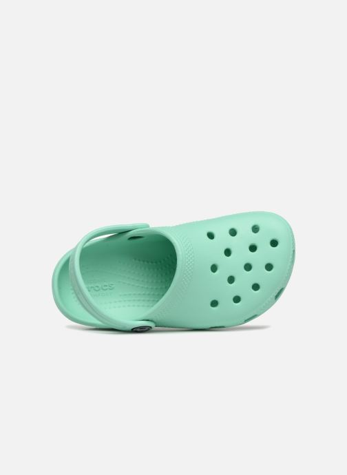 Sandals Crocs Kids Cayman Green view from the left