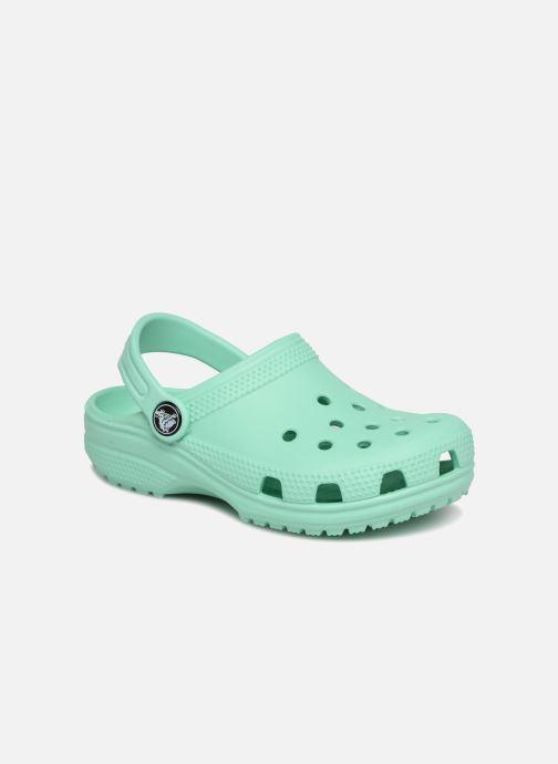 Sandales et nu-pieds Crocs Classic Kids Vert vue détail/paire
