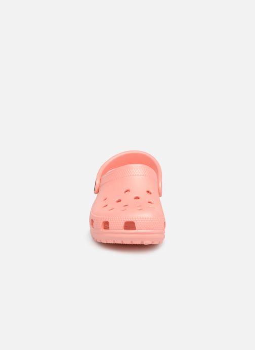 Sandals Crocs Kids Cayman Orange model view