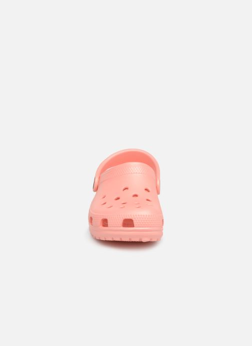 Sandals Crocs Kids Cayman Orange model view