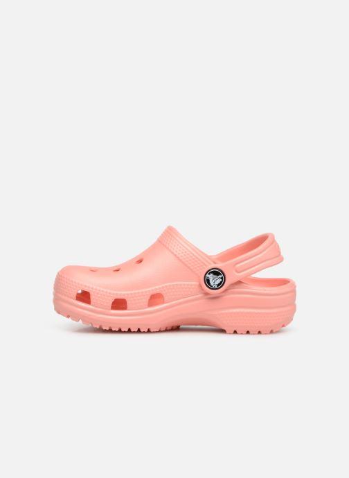 Sandals Crocs Kids Cayman Orange front view