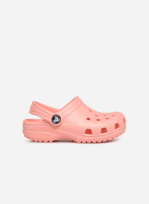 Sandals Crocs Kids Cayman Orange back view