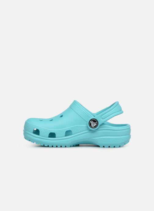 Sandaler Crocs Classic Kids Blå bild från framsidan