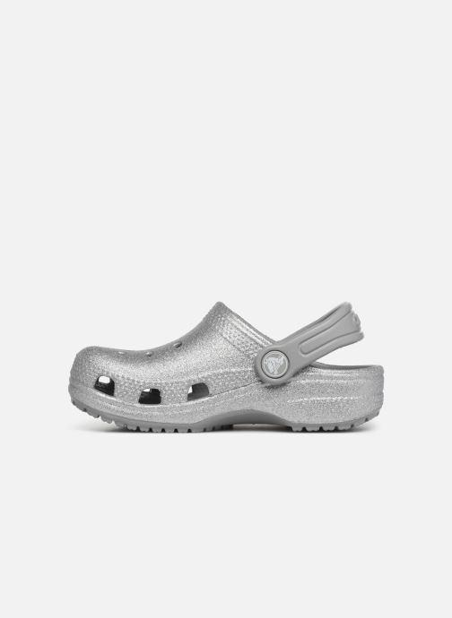 Sandales et nu-pieds Crocs Classic Kids Argent vue face