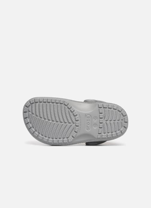 Sandales et nu-pieds Crocs Classic Kids Argent vue haut