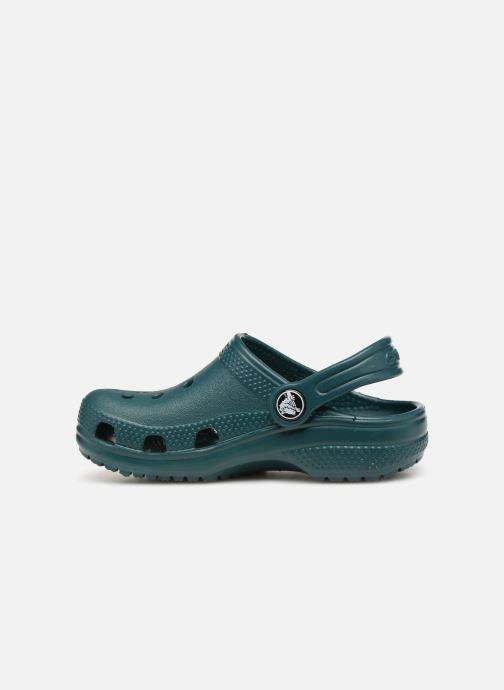 Sandali e scarpe aperte Crocs Kids Cayman Verde immagine frontale