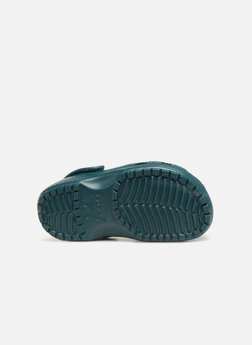Sandali e scarpe aperte Crocs Kids Cayman Verde immagine dall'alto
