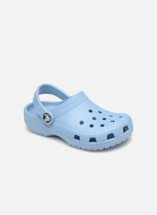 Sandales et nu-pieds Crocs Classic Kids Bleu vue détail/paire