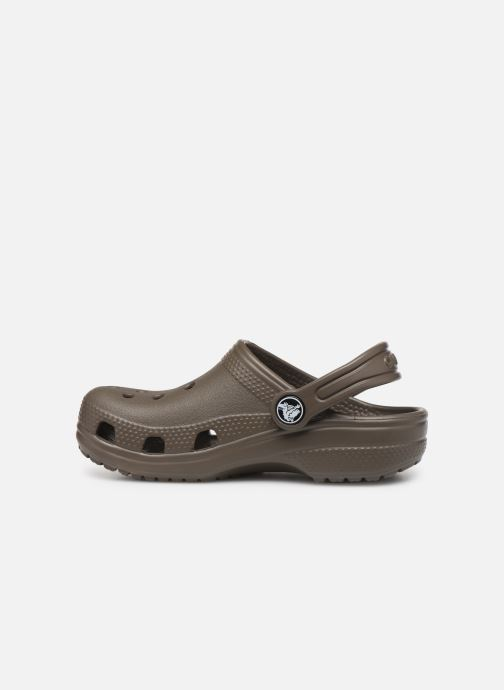 Sandali e scarpe aperte Crocs Kids Cayman Marrone immagine frontale