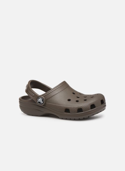 Sandalias Crocs Kids Cayman Marrón vistra trasera