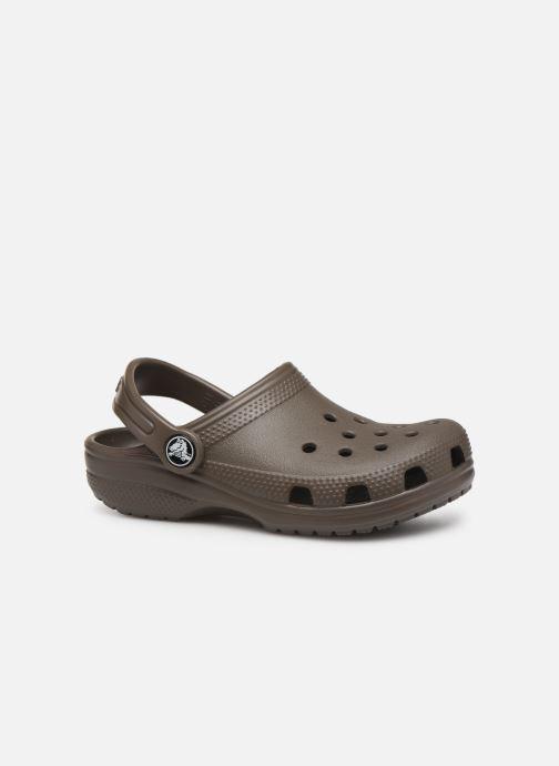 Sandales et nu-pieds Crocs Classic Kids Marron vue derrière