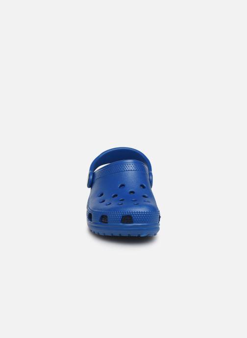 Sandalen Crocs Kids Cayman blau schuhe getragen