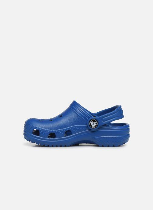 Sandalias Crocs Kids Cayman Azul vista de frente