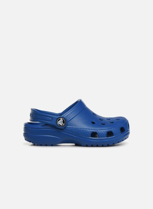 Sandals Crocs Kids Cayman Blue back view