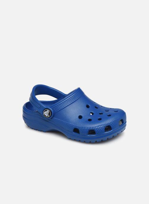 Sandaler Crocs Classic Kids Blå detaljeret billede af skoene