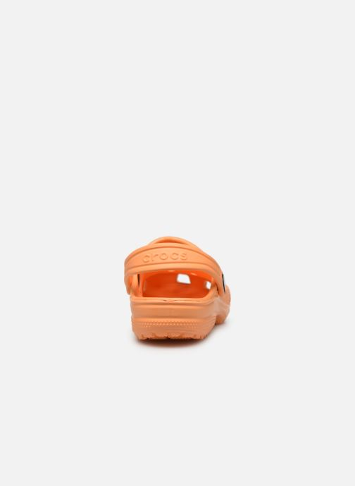 Sandales et nu-pieds Crocs Classic Kids Orange vue droite