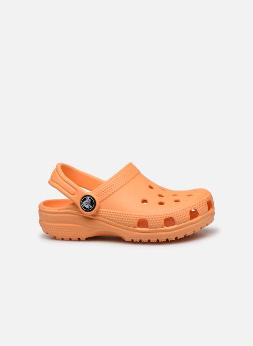 Sandalias Crocs Kids Cayman Naranja vistra trasera