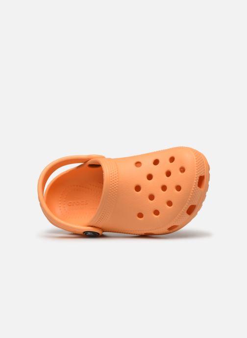 Sandales et nu-pieds Crocs Classic Kids Orange vue gauche