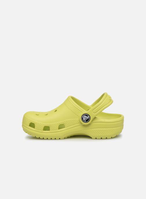 Sandales et nu-pieds Crocs Classic Kids Vert vue face