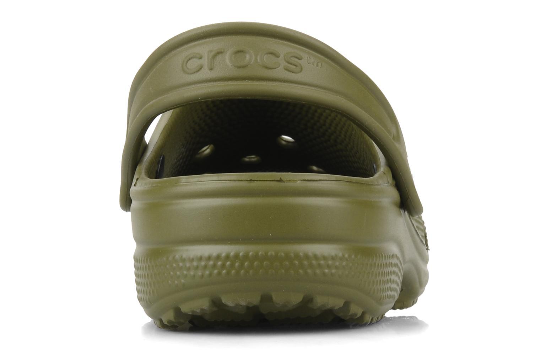 Sandales et nu-pieds Crocs Classic Kids Vert vue droite