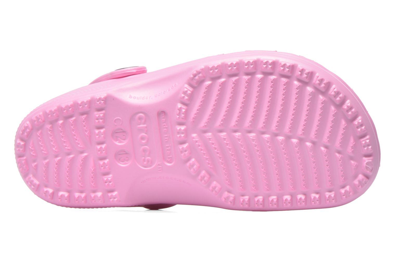 Sandales et nu-pieds Crocs Classic Kids Rose vue haut