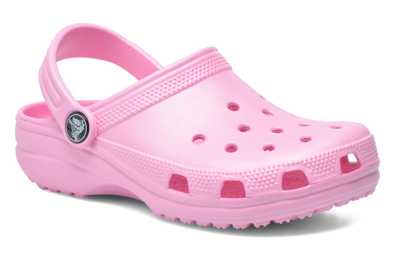 1bf25870fe4b Sandaler Crocs Classic Kids Pink detaljeret billede af skoene