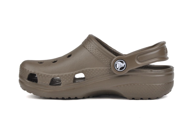 Sandales et nu-pieds Crocs Classic Kids Marron vue face