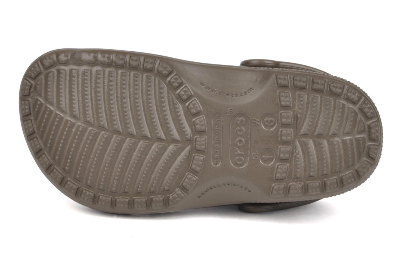 Sandales et nu-pieds Crocs Classic Kids Marron vue haut