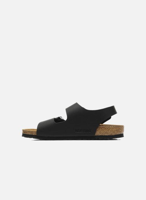 Sandales et nu-pieds Birkenstock Milano Flor M Noir vue face
