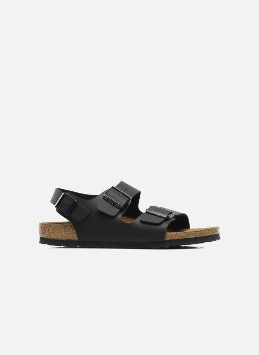 Sandales et nu-pieds Birkenstock Milano Flor M Noir vue derrière