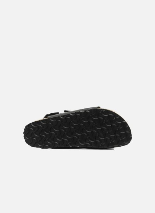 Sandals Birkenstock Milano Black view from above