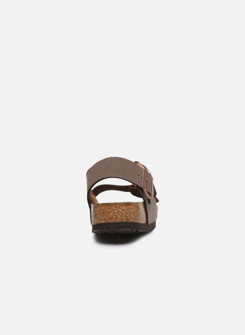 Sandales et nu-pieds Birkenstock Milano Flor M Marron vue droite