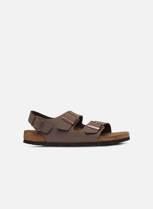 Sandales et nu-pieds Birkenstock Milano Flor M Marron vue derrière