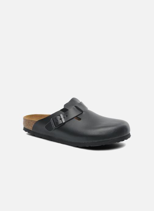 Sandalen Birkenstock Boston Cuir M schwarz detaillierte ansicht/modell
