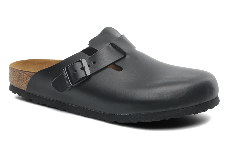 Sandales et nu-pieds Birkenstock Boston Cuir M Noir vue détail/paire