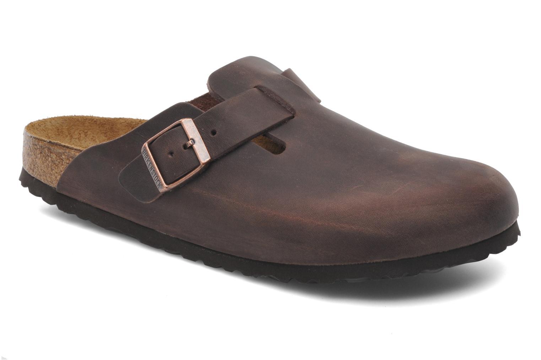 Sandali e scarpe aperte Birkenstock Boston Cuir M Marrone vedi dettaglio  paio ddfe7e06116