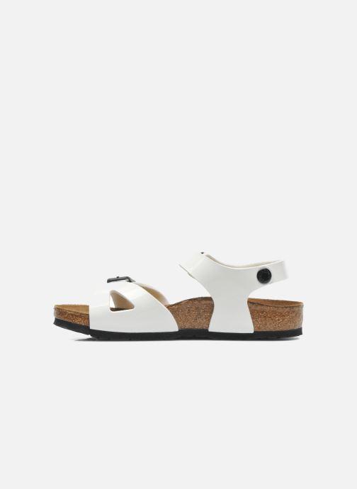 Sandali e scarpe aperte Birkenstock Rio Bianco immagine frontale