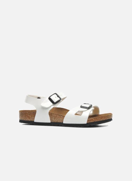 Sandali e scarpe aperte Birkenstock Rio Bianco immagine posteriore