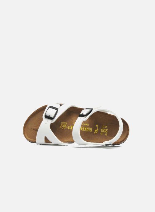 Sandali e scarpe aperte Birkenstock Rio Bianco immagine sinistra