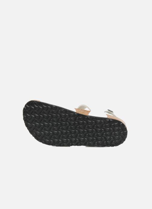 Sandali e scarpe aperte Birkenstock Rio Bianco immagine dall'alto