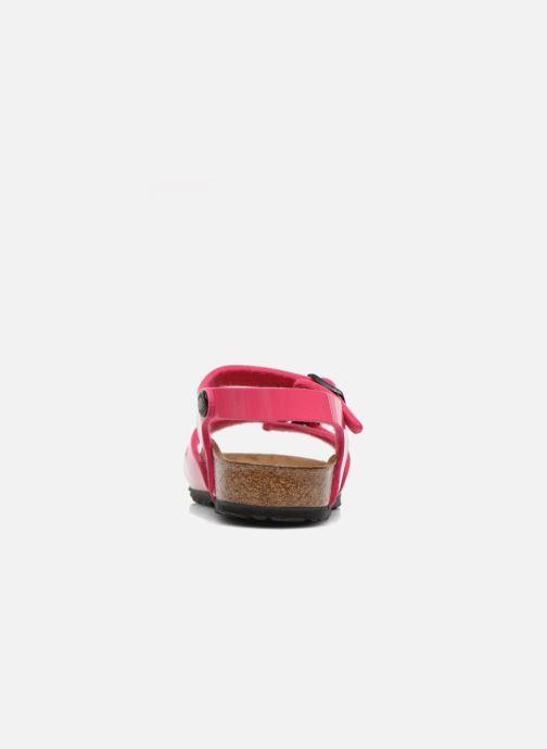 Sandali e scarpe aperte Birkenstock Rio Rosa immagine destra