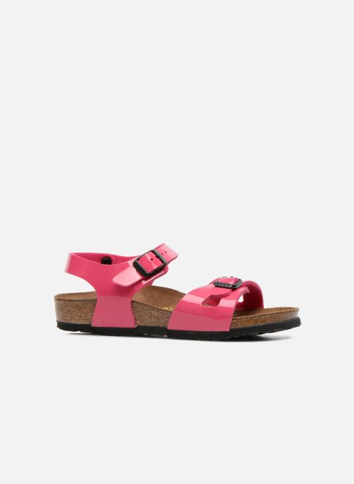 Sandalen Birkenstock Rio Roze achterkant