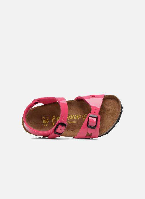 Sandali e scarpe aperte Birkenstock Rio Rosa immagine sinistra