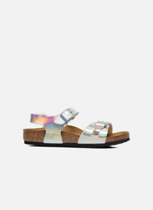 Sandali e scarpe aperte Birkenstock Rio Argento immagine posteriore
