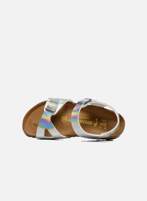 Sandali e scarpe aperte Birkenstock Rio Argento immagine sinistra