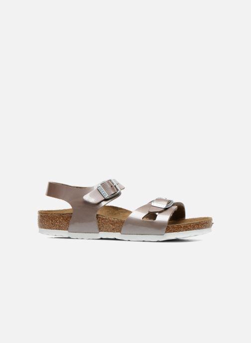 Sandali e scarpe aperte Birkenstock Rio Oro e bronzo immagine posteriore