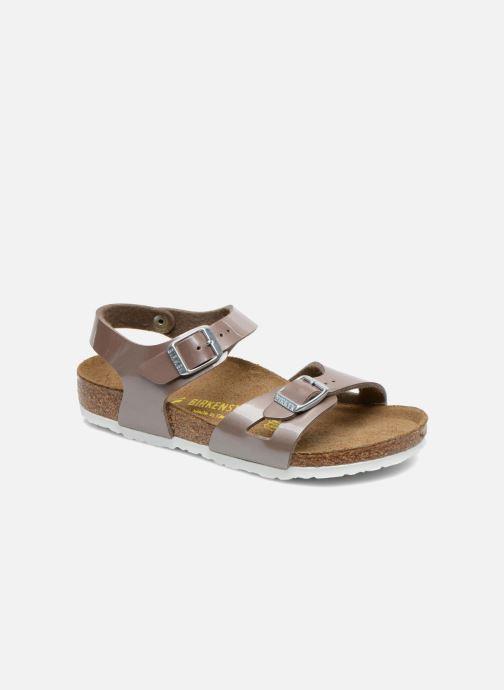 Sandali e scarpe aperte Birkenstock Rio Oro e bronzo vedi dettaglio/paio